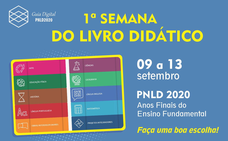 1ª Semana do Livro Didático - PNLD2020